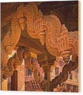 Fatehpur Sikri Detail Wood Print