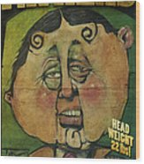 Fathead Poster Wood Print