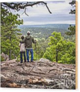 Father And Son Wood Print by Tamyra Ayles