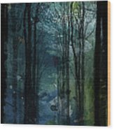 Father Frost Is Coming Wood Print