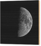 Fathers Day Moon 1  Wood Print