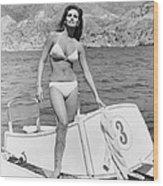 Fathom, Raquel Welch, 1967, �20th Wood Print