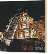 Faux Myan Pyramid Wood Print