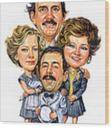 Fawlty Towers Wood Print