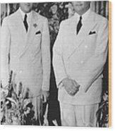 Fbi Director J. Edgar Hoovers 20th Wood Print
