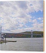 Fdr Mid Hudson Bridge - Poughkeepsie Ny Wood Print