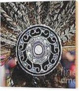 Feather Headdress Wood Print