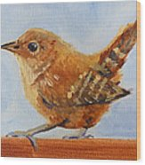 Feathered Wood Print