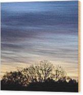 February 1 Dawn 2013 II Wood Print