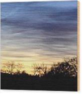 February 1 Dawn 2013 Wood Print