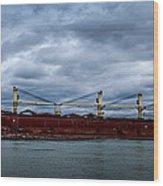 Federal Elbe Wood Print