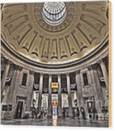 Federal Hall New York Wood Print