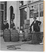 Federal Prohibition Agents 1923 Wood Print