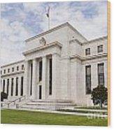 Federal Reserve Building No2 Wood Print