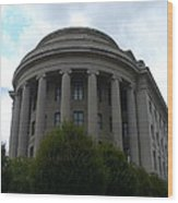 Federal Trade Commission Wood Print