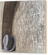 Fedora Wood Print