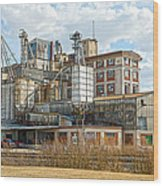 Feed Mill Hdr Wood Print