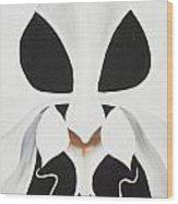 Feline-opsis Wood Print