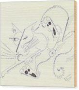 Felis Notsodomesticus Wood Print