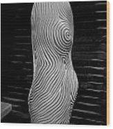 Female Light Wood Print