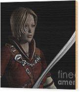 Female Ranger Portrait Wood Print