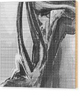 Female Torso 2 Wood Print