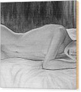 Feminine Vi Wood Print