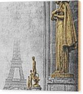 femmes de Paris Wood Print