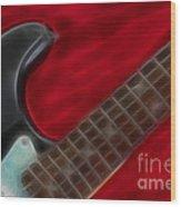 Fender-9657-fractal Wood Print