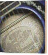 Fender Hot Rod Design Guitar 2 Wood Print