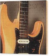 Fender Stratocaster Electric Guitar Wood Print