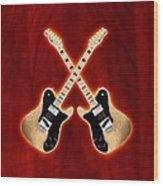 Fender Telecaster Custom Wood Print