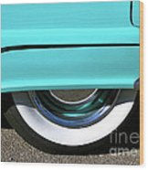 Fender What - 1955 Ford Wood Print