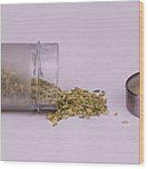 Fennel Seeds Saunf Wood Print