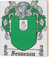 Fennessy Coat Of Arms Irish Wood Print