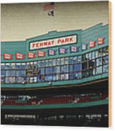 Fenway Memories - 2 Wood Print