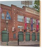 Fenway Park - Best Of Boston Wood Print