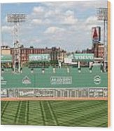 Fenway Park Green Monster 1 Wood Print