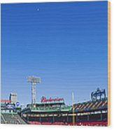 Fenway Park- Home Of The Boston Red Sox Wood Print by Diane Diederich