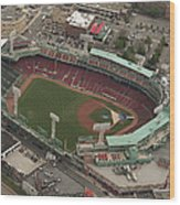 Fenway Park Wood Print by Joshua House