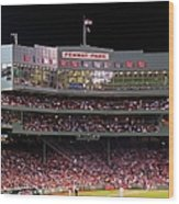 Fenway Park Wood Print by Juergen Roth