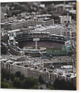 Fenway Park Wood Print by Tim Perry