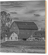 Fenwick Barn 7k02210b Wood Print