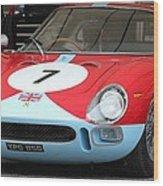Ferarri 250 Le Mans Wood Print