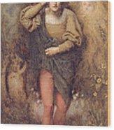 Ferdinand And Ariel, 1880 Wood Print