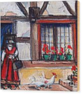 Ferme Bressane Wood Print