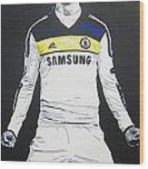 Fernando Torres - Chelsea Fc Wood Print