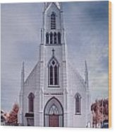 Ferndale Church Wood Print