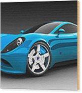 Ferrari 16 Wood Print