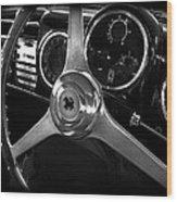 Ferrari 166 Interior Wood Print